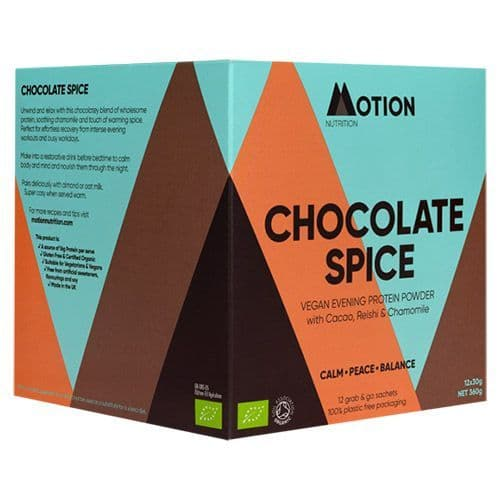 Motion Nutrition Chocolate Spice Evening Protein Shake